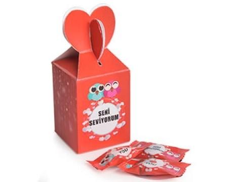Seni Seviyorum Şeker Kutusu